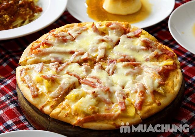 Pizza Hoa Ý, mỳ Spagheti & Caramen ngon đúng điệu - 2