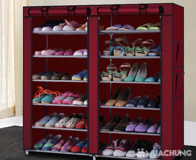 Tủ vải 6 tầng 12 ngăn - Bảo quản quần áo, giày dép - 7
