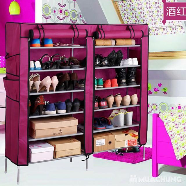 Tủ vải 6 tầng 12 ngăn - Bảo quản quần áo, giày dép - 8