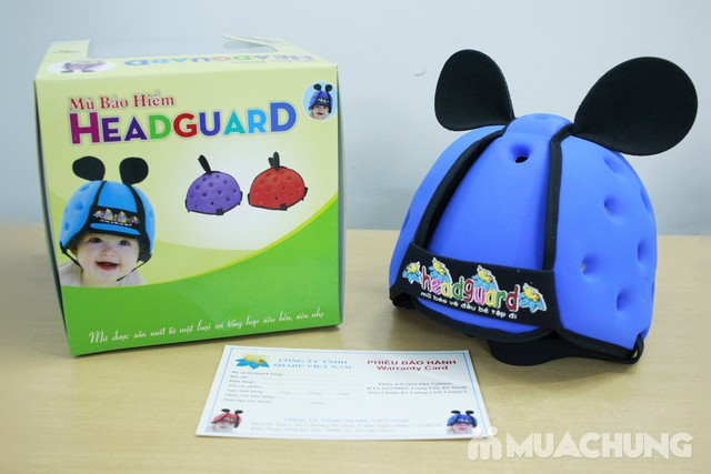 Mũ bảo vệ đầu cho bé tập đi - HeadGuard - 1