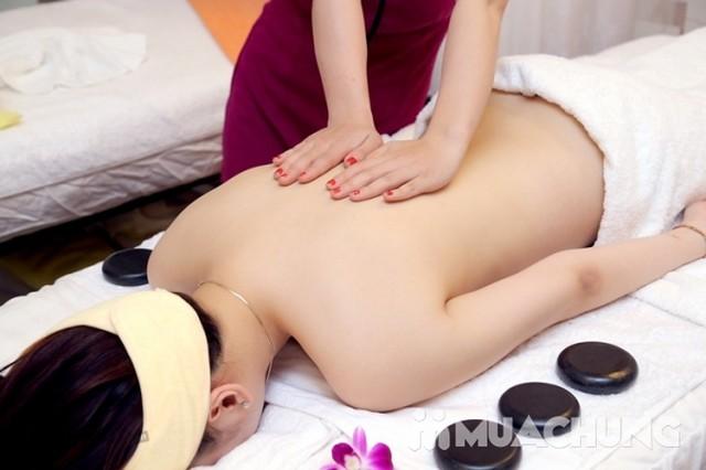 Massage body tinh dầu, chạy đá nóng thư giãn 75' Mùa Xuân Spa - 10