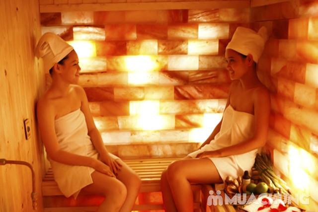 Xông ion đá muối + massage đá nóng tinh dầu 90' tại Danusa Spa - 7