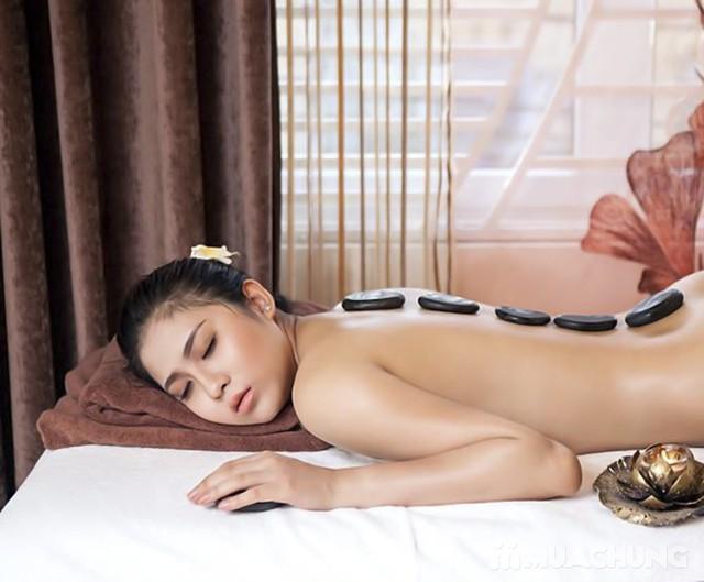 Massage body tinh dầu, chạy đá nóng thư giãn 75' Mùa Xuân Spa - 1