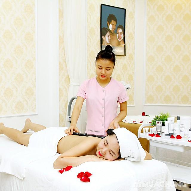 Massage body tinh dầu, chạy đá nóng thư giãn 75' Mùa Xuân Spa - 7