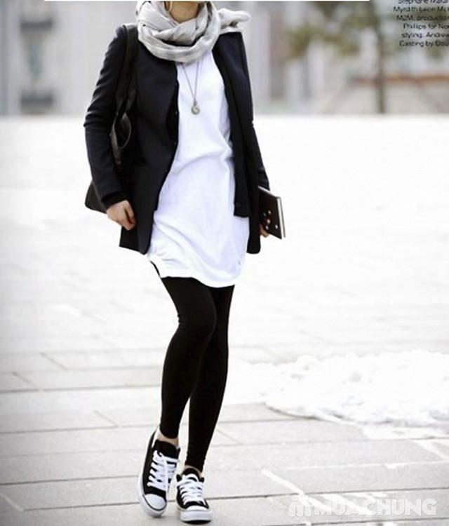 Combo 3 quần tất lót nỉ ấm áp cho mùa đông - 14