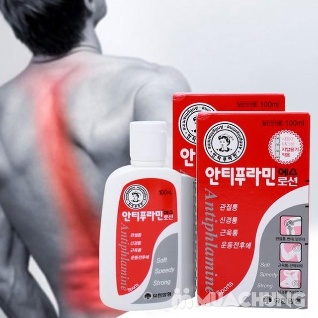 2 dầu nóng xoa bóp Antiphlamine Hàn Quốc 100ml - 4