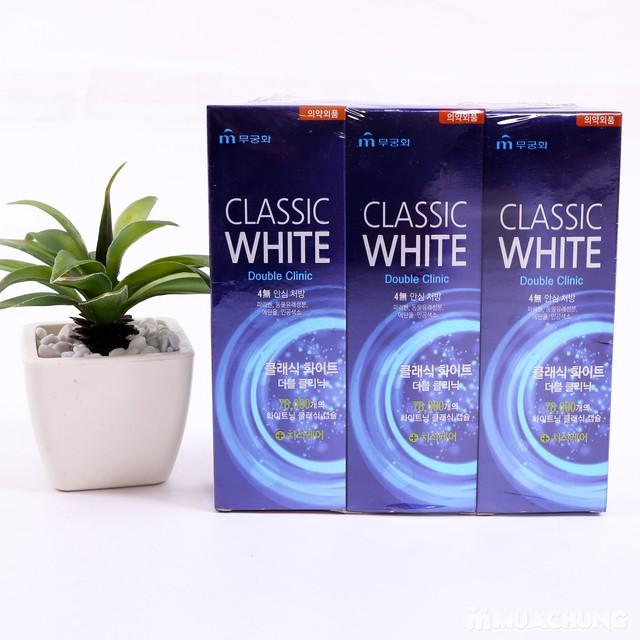 3 hộp kem đánh răng siêu trắng Classic White - 1