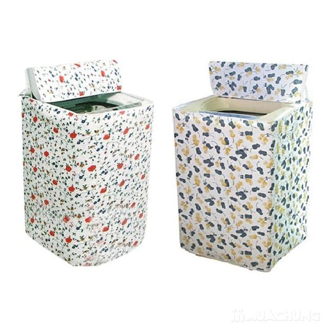 Vỏ bọc máy giặt cửa trên loại dày, bền đẹp - 8