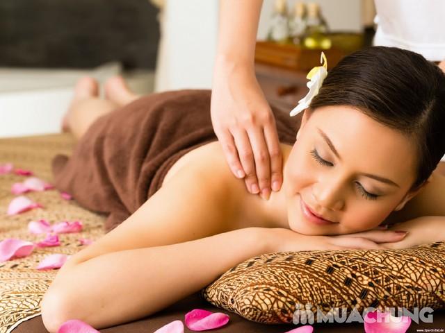 Massage tinh dầu + Xông hơi thảo dược, tẩy da chết Linh Vy Spa - 4