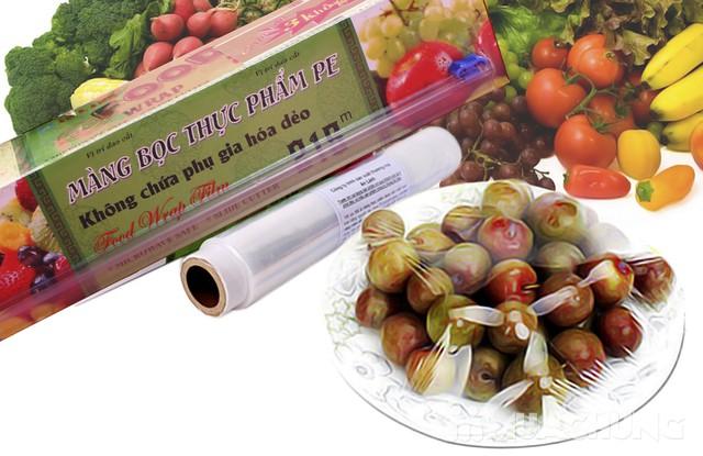 Màng bọc thực phẩm PE An Lành 215m x 30cm - 1