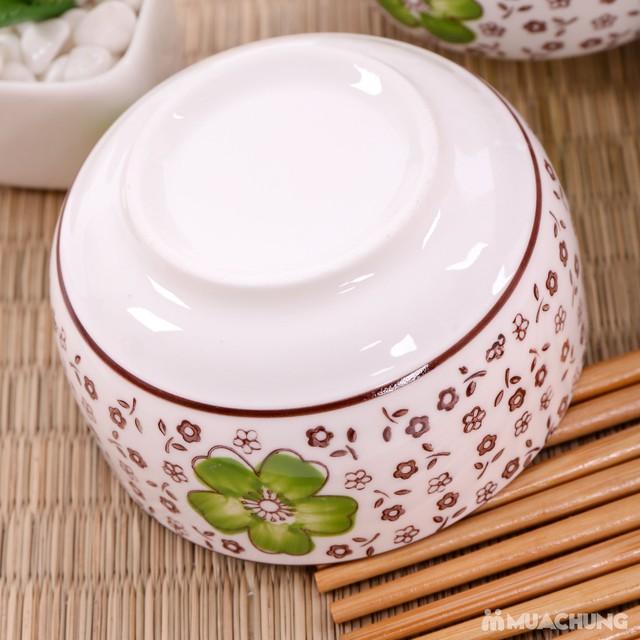 Bộ 6 bát ăn cơm & đũa cao cấp - Hàng xuất Nhật - 8