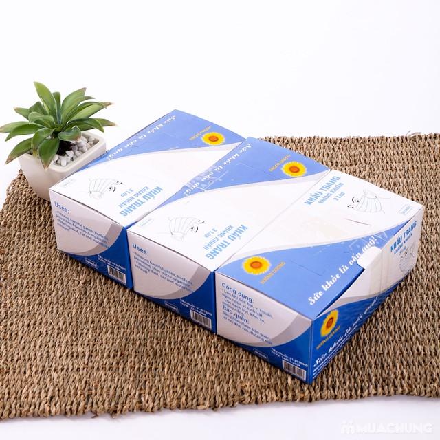 3 hộp khẩu trang y tế 3 lớp - ngừa vi khuẩn - 4