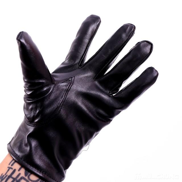 Găng tay da nam lót lông bền đẹp, thời trang - 10