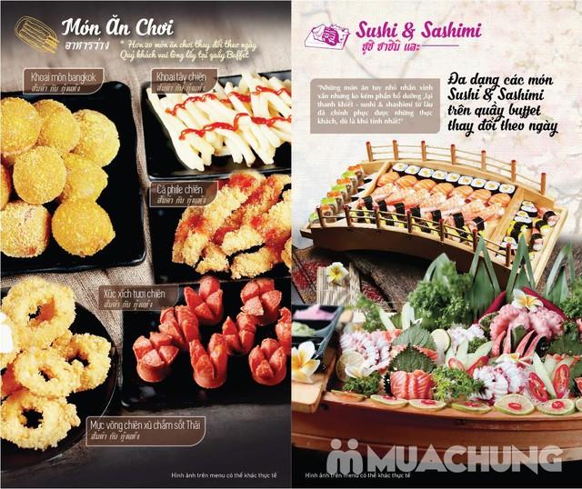 Buffet nướng lẩu không khói nhà hàng Thái BBQ - 12