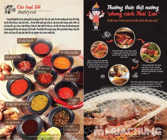 Buffet nướng lẩu không khói nhà hàng Thái BBQ - 9