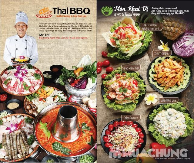 Buffet nướng lẩu không khói nhà hàng Thái BBQ - 8