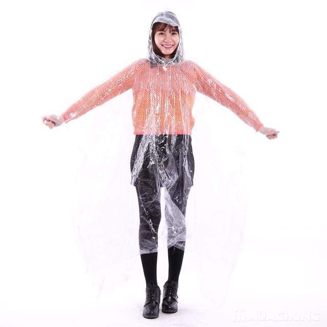 Áo mưa trong suốt 2 đầu siêu bền - 2