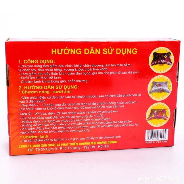 2 Túi chườm Hướng Dương cỡ trung - Hàng Việt Nam - 8