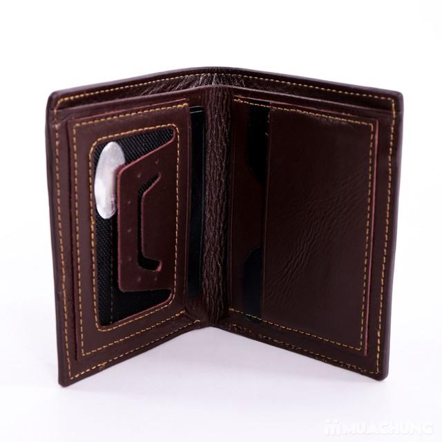Chọn 1 trong 2 mẫu ví nam da bò DaH2 thời trang - 8