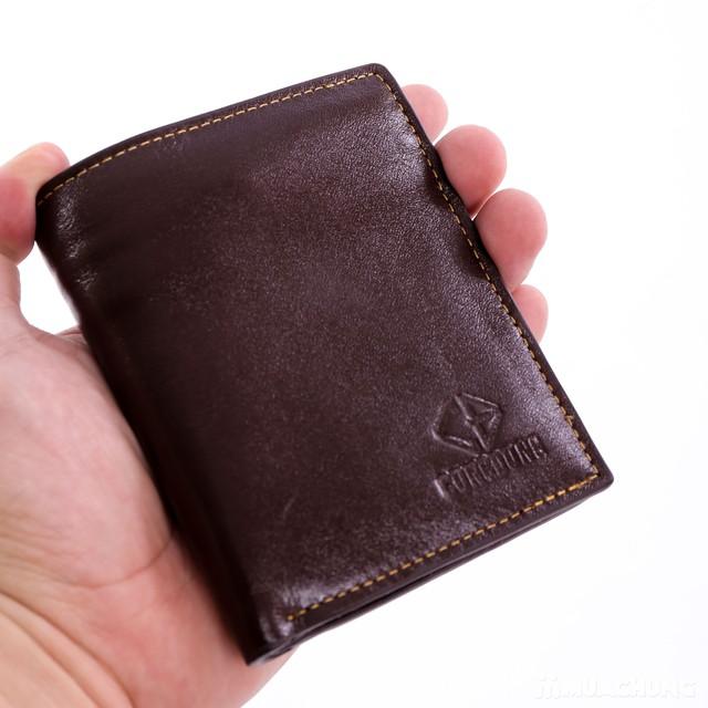 Chọn 1 trong 2 mẫu ví nam da bò DaH2 thời trang - 10