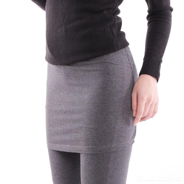 Quần legging giả váy trẻ trung 100% cotton  - 9