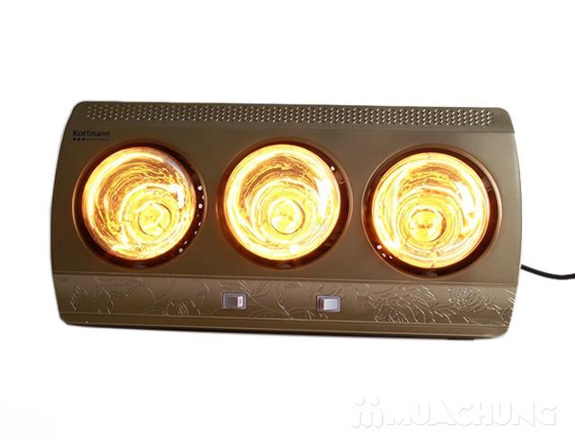Đèn sưởi nhà tắm Kottmann 3 bóng dòng vàng (bảo hành 3 năm) - 9