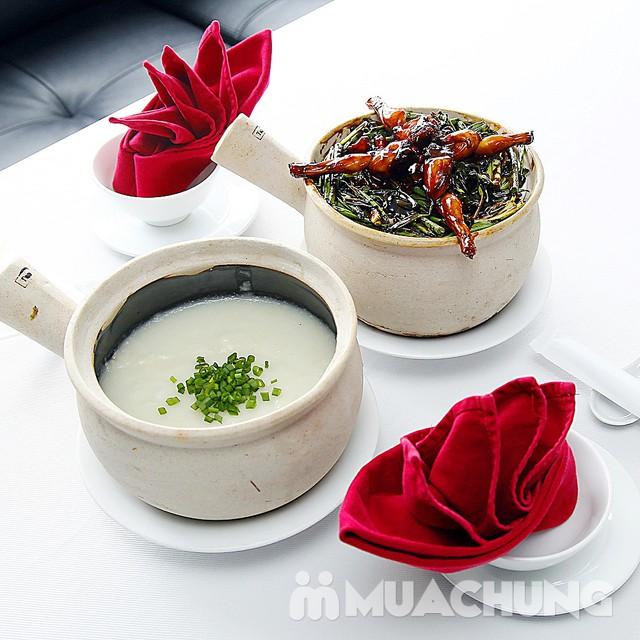 Ngon lạ set cháo ếch kiểu Singapore cho 2 người nhà hàng D'Lions Restaurant - 1