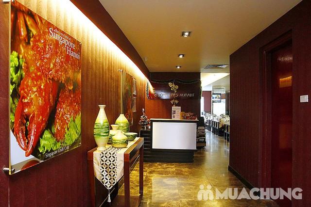 Ngon lạ set cháo ếch kiểu Singapore cho 2 người nhà hàng D'Lions Restaurant - 8