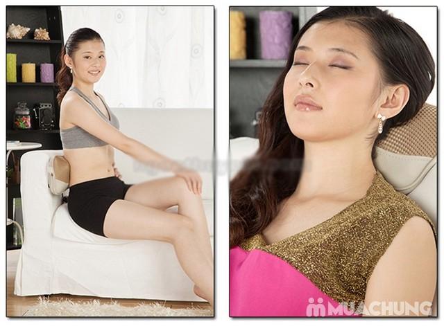 Gối massage hồng ngoại Akiko Q021 - NK Nhật Bản - 1