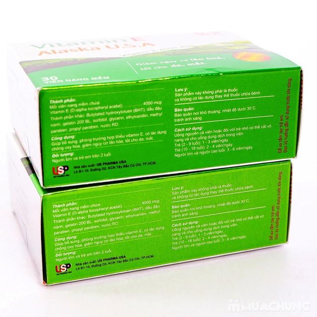 2 hộp Vitamin E Alaska U.S.A chăm sóc sắc đẹp - 11