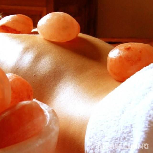 Tẩy da chết toàn thân, massage đá muối Himalayas Spa Thảo - 10