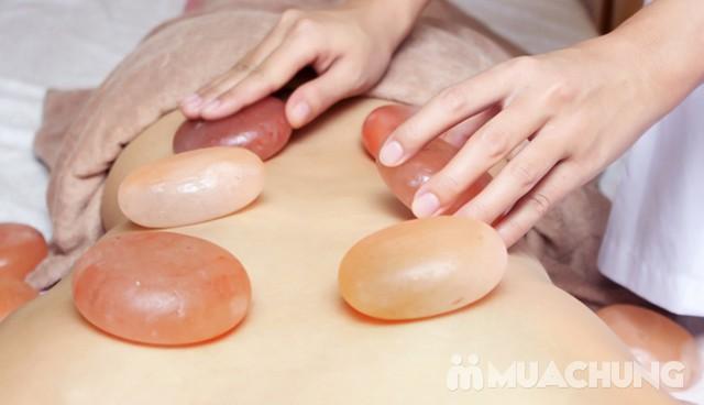 Tẩy da chết toàn thân, massage đá muối Himalayas Spa Thảo - 9
