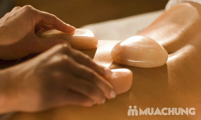 Tẩy da chết toàn thân, massage đá muối Himalayas Spa Thảo - 3