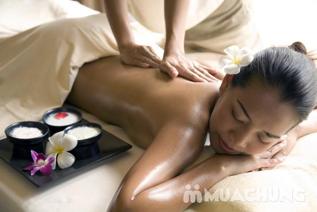 Tẩy da chết toàn thân, massage đá muối Himalayas Spa Thảo - 8