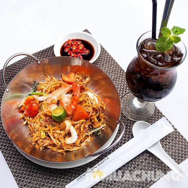 Chọn 1 trong 8 loại mỳ mới lạ kèm đồ uống hấp dẫn - d'Lions Restaurant - 10
