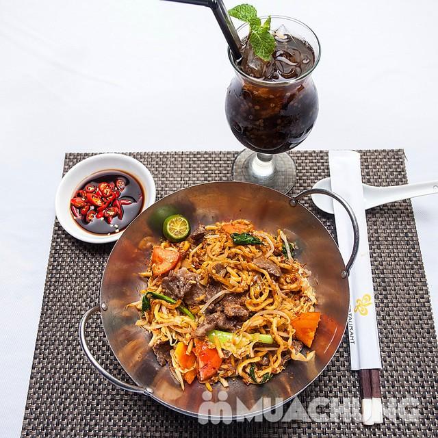 Chọn 1 trong 8 loại mỳ mới lạ kèm đồ uống hấp dẫn - d'Lions Restaurant - 12