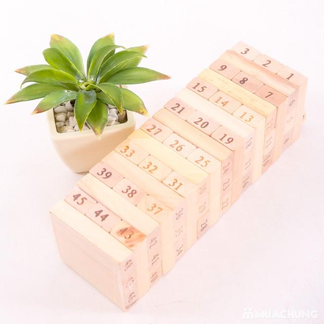 Khéo tay, tinh mắt với đồ chơi rút gỗ Vivitoys VN - 9