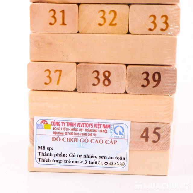 Khéo tay, tinh mắt với đồ chơi rút gỗ Vivitoys VN - 6