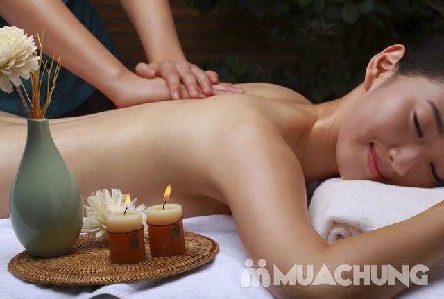 Massage, bấm huyệt toàn thân với tinh dầu, đá nóng Linh Anh Spa - 4