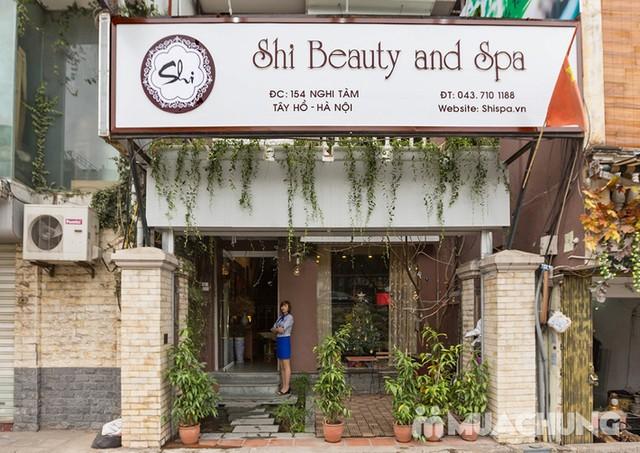 Massage body đá nóng, ủ Parafin da mịn như em bé Shi Beauty & Spa - 14