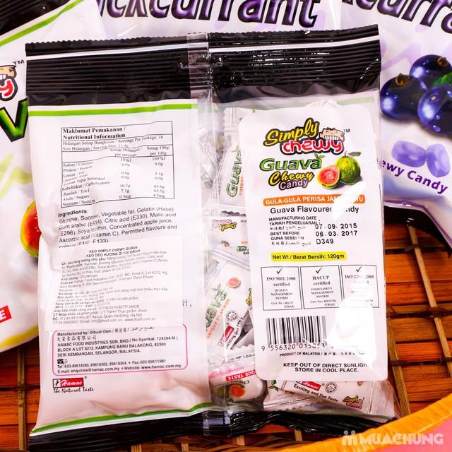 Combo 4 gói kẹo chew hương ổi & nho NK Malaysia - 5