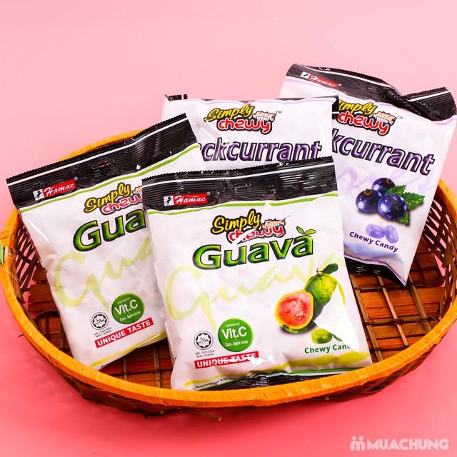 Combo 4 gói kẹo chew hương ổi & nho NK Malaysia - 3