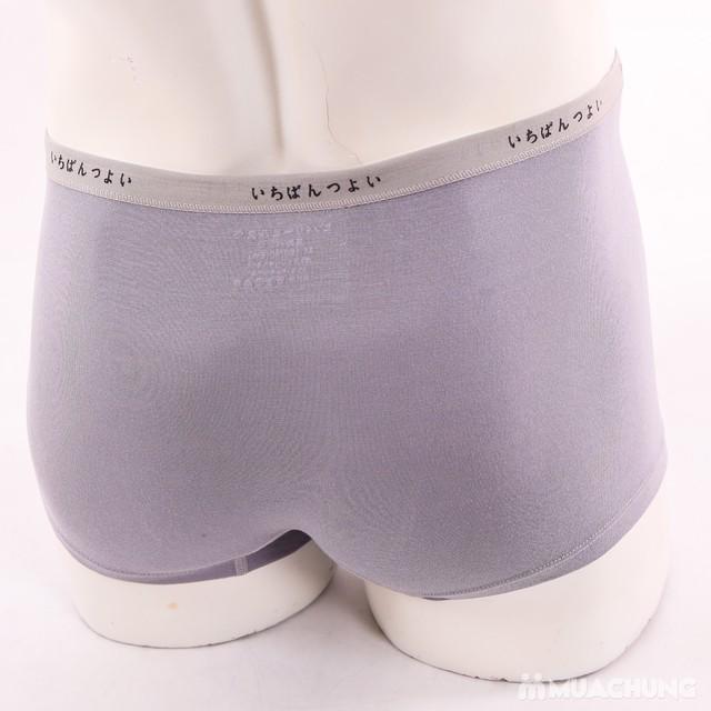 Combo 4 quần sịp đùi VNXK mềm mại, thoáng mát - 8