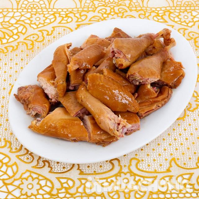 1 con gà muối hun khói đặc sản loại 1kg - 7