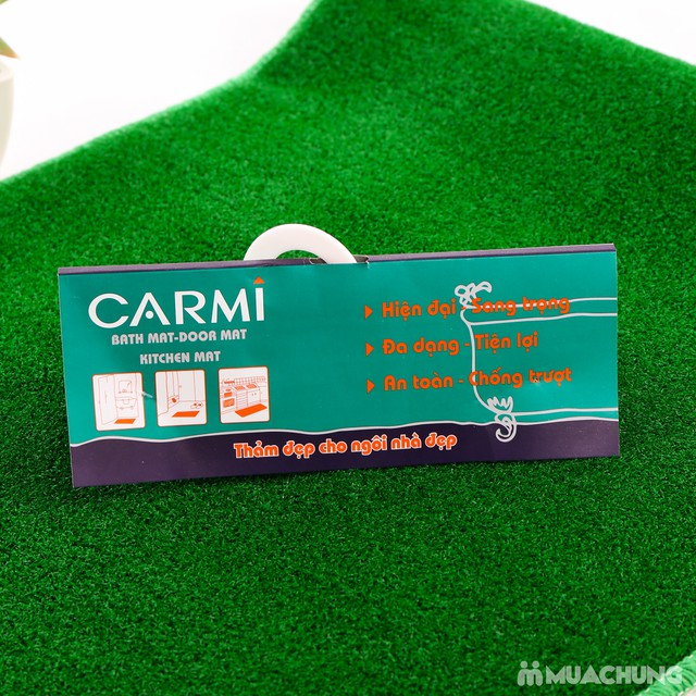 Thảm cỏ nhân tạo cao cấp Carmi 120x50cm  - 6