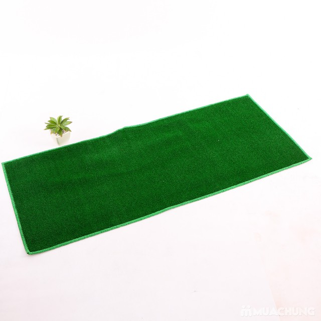 Thảm cỏ nhân tạo cao cấp Carmi 120x50cm  - 9