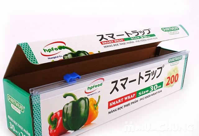Màng bọc thực phẩm Smart Wrap 30cmx100m - 13