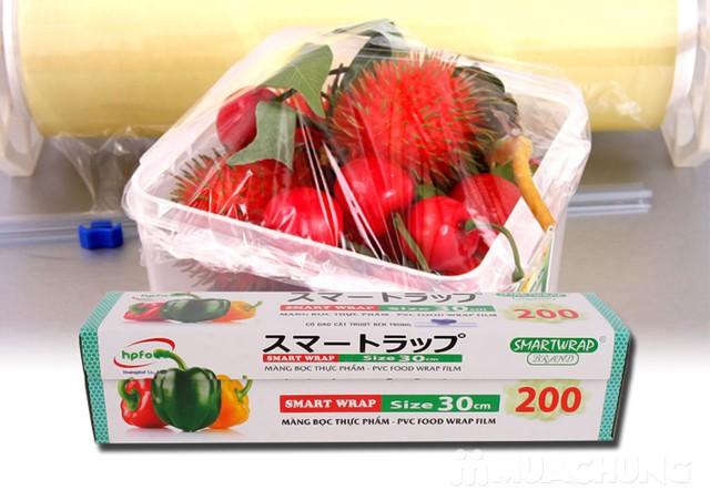 Màng bọc thực phẩm Smart Wrap 30cmx100m - 5