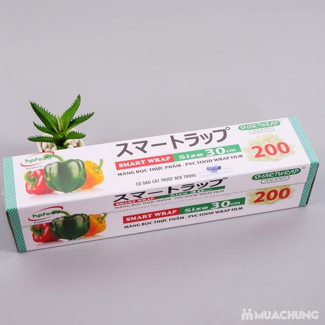 Màng bọc thực phẩm Smart Wrap 30cmx100m - 6