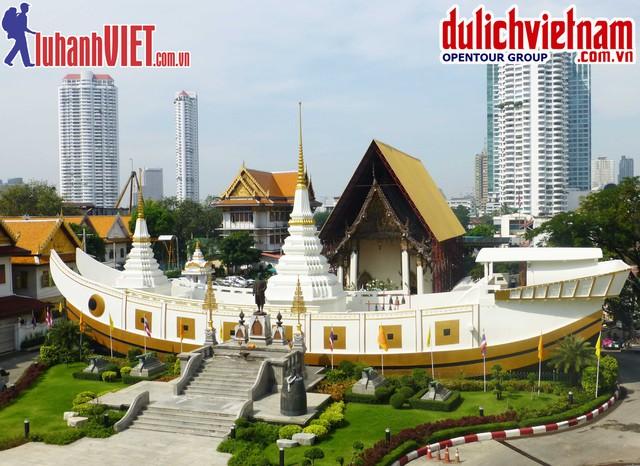 TOUR QUẢNG CÁO:Trải nghiệm hè du lịch Thái Lan: Bangkok - Pattaya 5N4Đ - 2